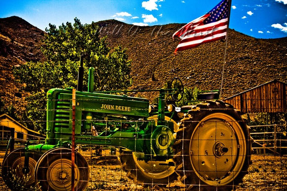 Girly John Deere Paintings : Best images about antique john deere tractors on
