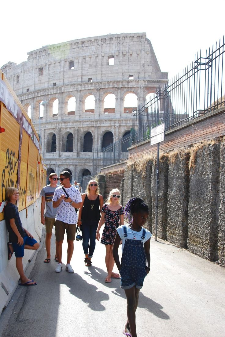 Rome with kids. Colosseum
