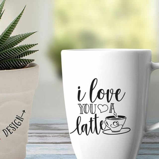 Cause everyday is a perfect opportunity to show our love ❤ Discover more of @graphichousedesign's cutting files available for personal and small business use www.graphichousedesign.etsy.com  .  #iloveyou #lovelatte #coffeelovers #love❤ #coffeetime #tbt❤ #cricutexploreair #cricut #cricutexplore #quoteofday #decals #tshirts #handmade #craft #silhouettecameo #silhouette_creative #etsy