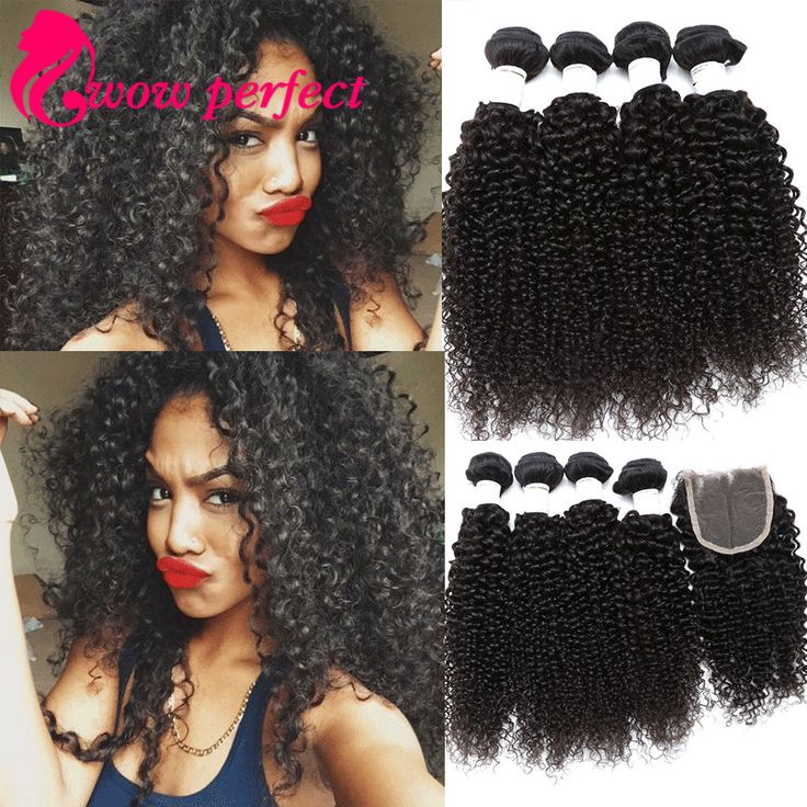 Find More Human Hair Weft with Closure Information about grade 7A brazilian virgin hair with closure kinky curly virgin hair with closure 4 bundles with closure curly hair with closure,High Quality hair loss natural products,China hair ceramic flat irons Suppliers, Cheap hair dye gray hair from wow perfect hair products company on Aliexpress.com