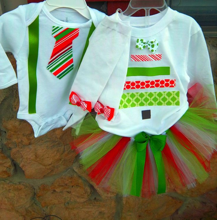 Matching Christmas Dresses For Infants And Toddlers
