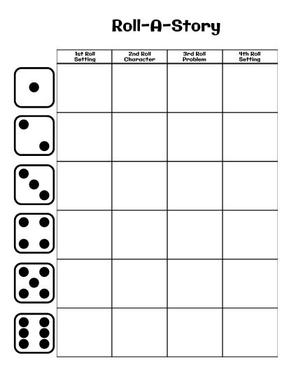Roll-A-Story is a fun way to work on story elements, story telling, character development, and so much more. Use this as a partner activity, in centers, or as part of a fiction writing unit.
