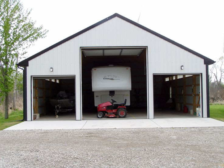 Rv garage plans and designs for Rv barn plans