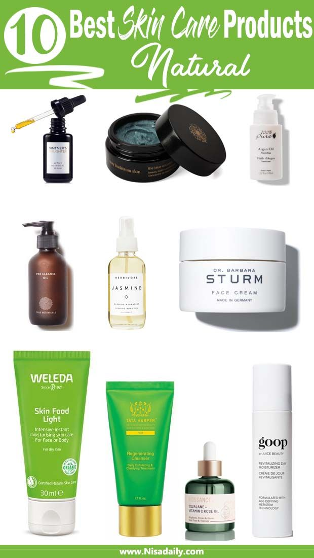 10 Amazing Natural Skin Care Products For A Clean Conscience Skin Care Natural Skin Care Natural Skin Care Diy