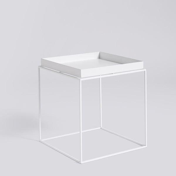 Tray Table M - L40 x W40 Black - HAY