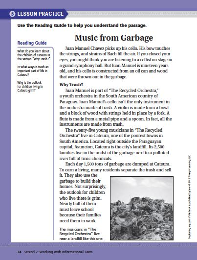 It is an image of Persnickety Printable Nonfiction Articles for Middle School