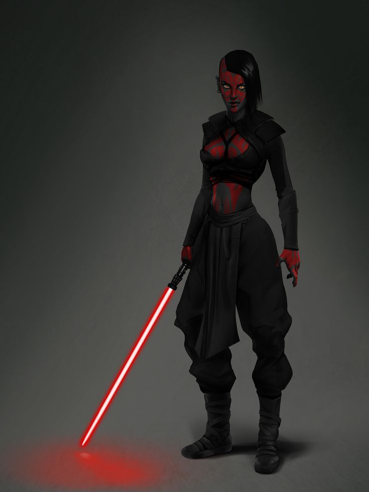 Sith Girl by Jono Martin on ArtStation.