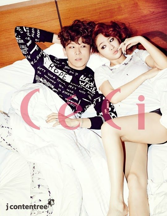 Soyu and Junggigo - Ceci Magazine April Issue 2014