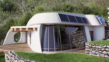Lifehaus; la casa autosuficiente cero emisiones, de bajo coste a base de materiales naturales y reciclados