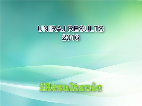 Uniraj Result 2016 for all courses are just here. Check live at uniraj.ac.in for BA, MA, BBA, MCA, BCA, MBA, M.Sc., B.Sc., LLB, LLM and all other courses.