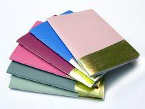 cahier doré sur DaWanda.com <3