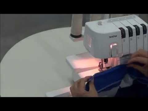 Overloque 3034D - Manuseio da Máquina (by Academia Licenciada)