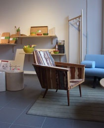 (Hand)made out of old floors #chair from Berlin -#Notawoodenspoon.com