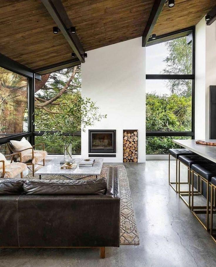 Ripaton sur Instagram : Une maison comme ouverte sur l'extérieur ! 🌿 Pas mal non ? Voir les ...