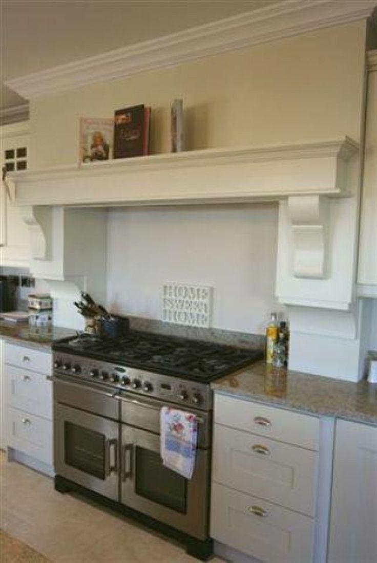 painted kitchen mantle idea http://www.pauljameskitchens.com
