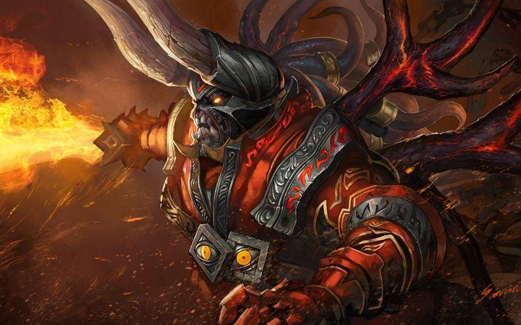 Doom #1 Wallpaper, more: http://dota2walls.com/doom/doom-1
