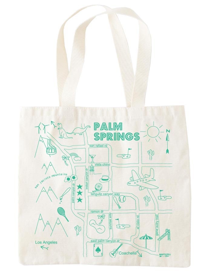 Palm Springs Grocery Tote - welcome bag!