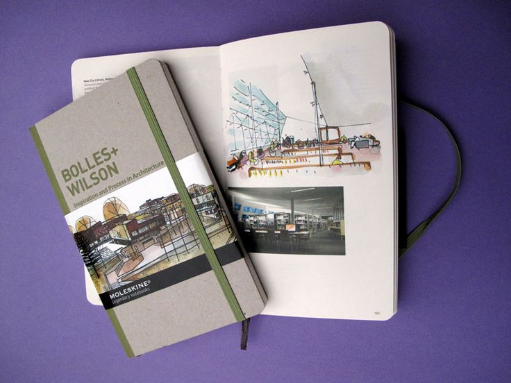 Moleskine Monographie by BOLLES+WILSON