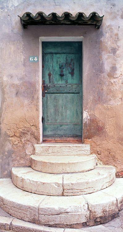 Door in Provence, France.
