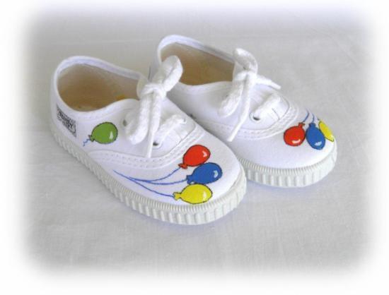Zapatillas lona mod.globos. personalizadas