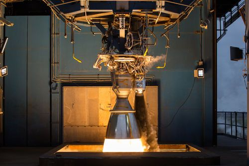 MotorHalcón Merlin pesado   SpaceX
