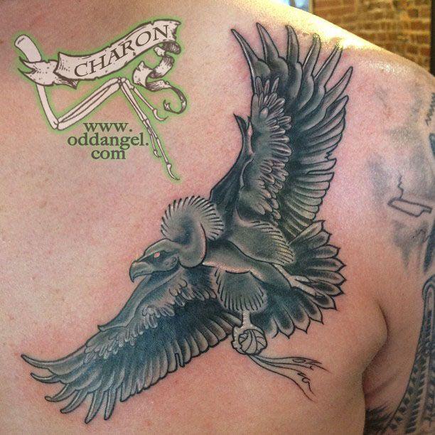 Flying Vulture Tattoo Design Tattoo Designs Flying Tattoo Tattoos