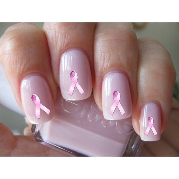 113 Best Images About Breast Cancer Awareness Nail Design