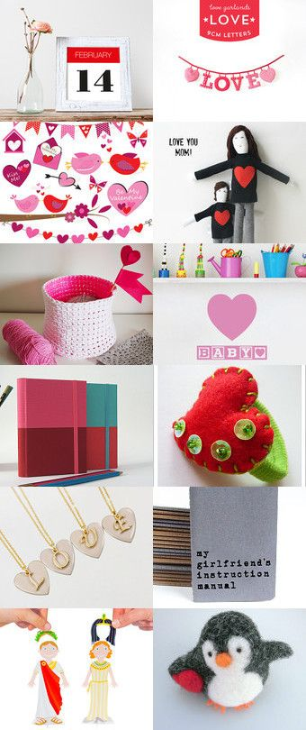 Love!! Valentine´s Day! by Ana Jerónimo on Etsy--Pinned+with+TreasuryPin.com