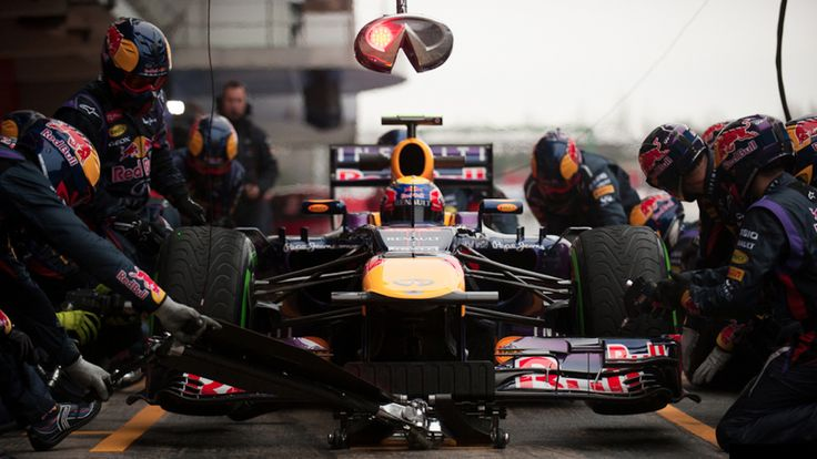 The Tense Beauty Of Formula One Practice In Barcelona