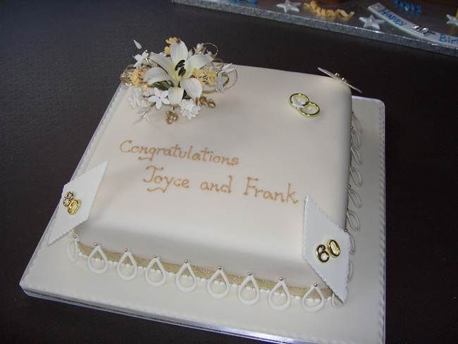 1000 Ideas About 60th Anniversary Cakes On Pinterest