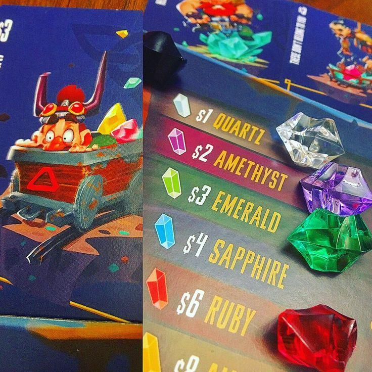 Of Quartz #quartz #quartzgame #tabletop #tabletopgames #games #gaming #boardgame #bgg #boardgaming #passportgame #passportgames #digdug #dwarfs #mining #analoggames #tabletopgaming #gamenight #boardgames #boardgamegeek #pressyourluck #brætspil http://unirazzi.com/ipost/1494546723090919513/?code=BS9slOCDvBZ