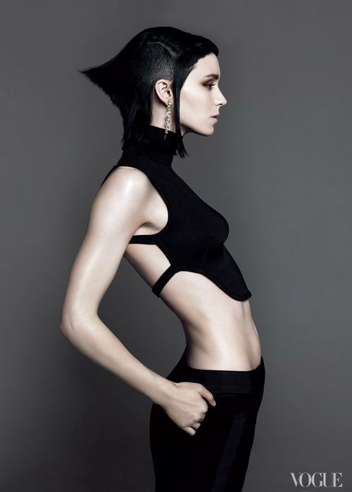 Rooney Mara, photographed by Mert Alas and Marcus Piggott, Vogue, November 2011