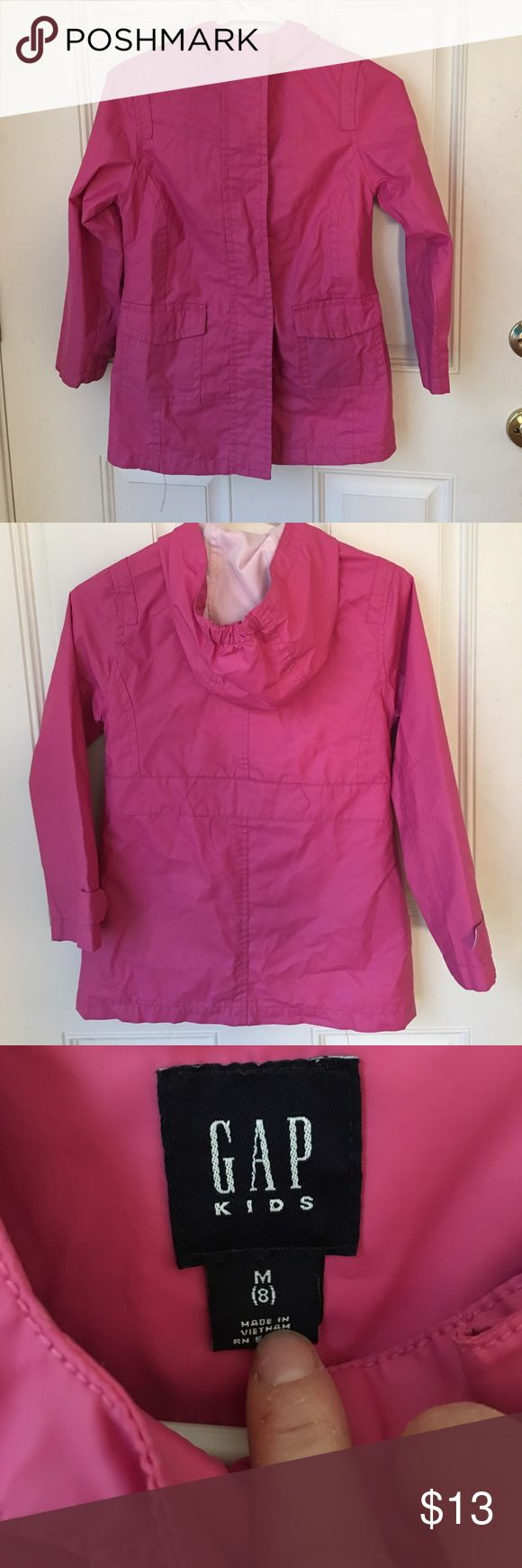 Gap girls pink raincoat 8 Cute girls raincoat from Gap. Girls size 8. #2/20/17. GAP Jackets & Coats Raincoats