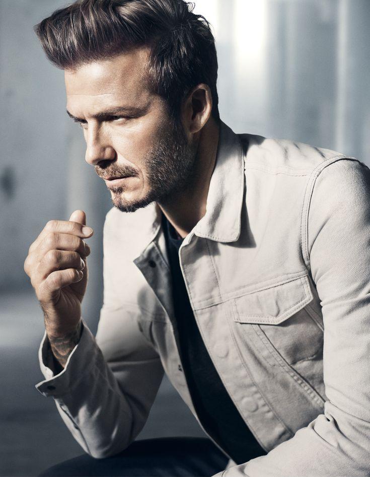 David Beckham models his Modern Essentials selected by David Beckham for H&M