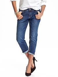 Women's Boyfriend Skinny Ankle Crop Jeans (24