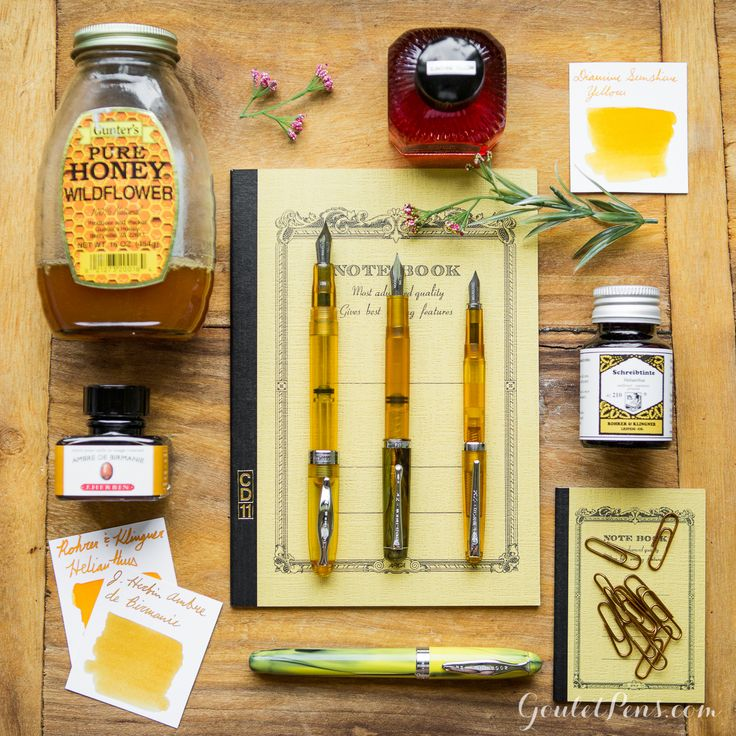 Thursday Things: Honey Bee inspired stationary and fountain pens