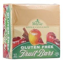 Betty Lou's Apple Cinnamon Fruit Bars (12x2 Oz):A delicious gluten-free all-natural snack with the taste of homemade baked cobbler! All sugars come from natural fruit and fruit juice. Both kids and adults will love them!