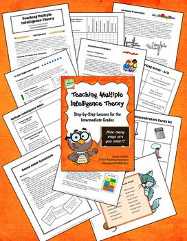 Teaching Multiple Intelligence Theory: Step-by-Step Lessons for the Intermediate Grades is a classroom-tested resource for introducing Dr. Howard Gardner's Multiple Intelligence (MI) theory to children. HUGE resource with ready-to-use printables, engaging lessons, and cooperative learning strategies. $