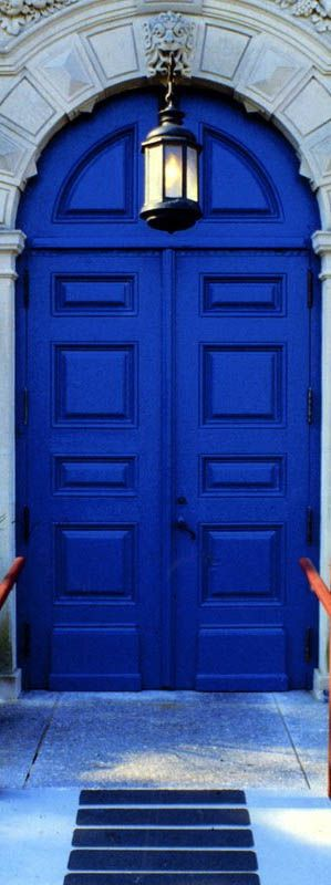 thinking of this cobalt blue for our front door …