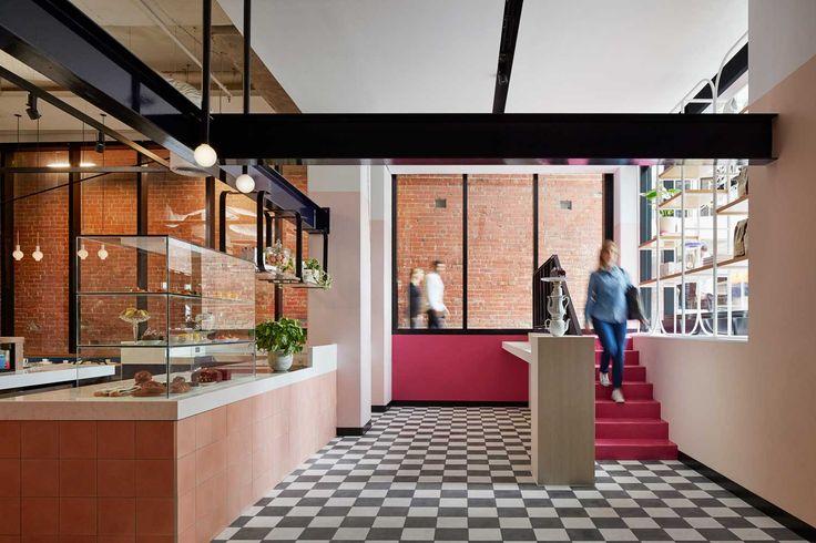 Fancy Nance Salon by Studio Tate, Melbourne   Yellowtrace