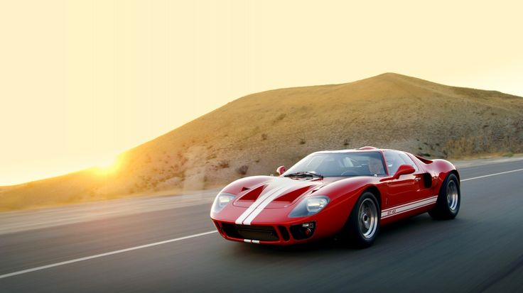 Download wallpaper 2007, superformance, ford, gt40, mki, форд, ford resolution 1366x768