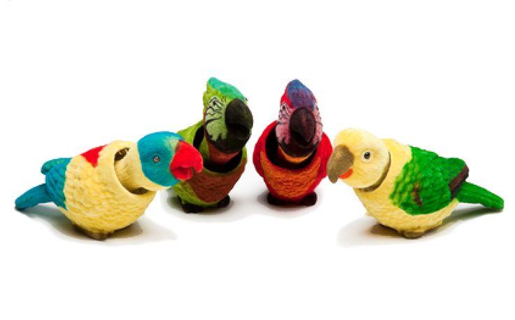 ja knikkend dashboard parkiet papegaai