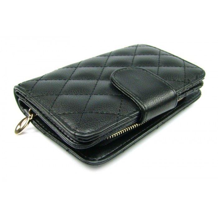 Černá peněženka dámská - peněženky AHAL