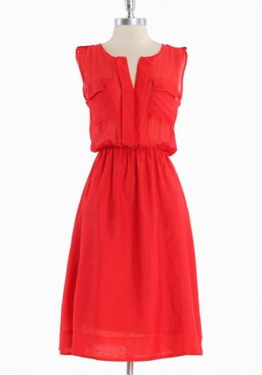 heatwave voile dress / covet