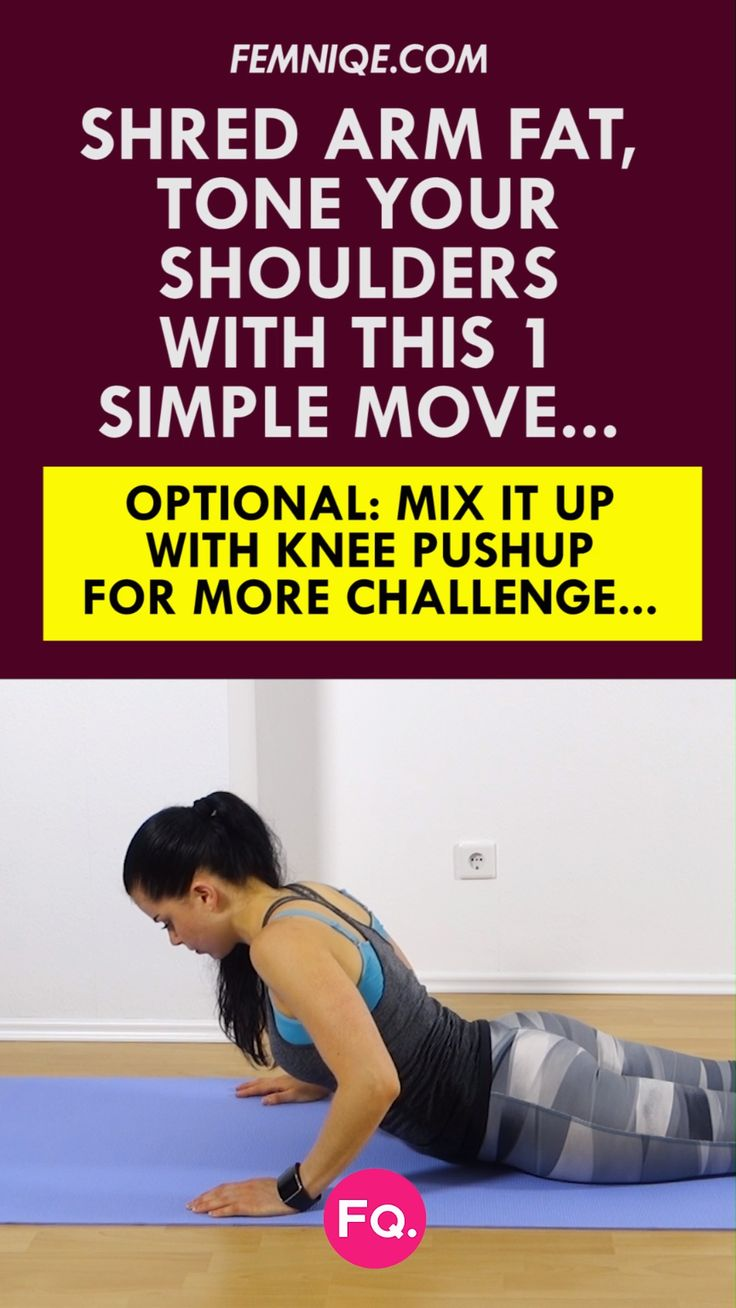 Arm Flab Workout: 6 Minute Workout To Get Rid Of Flabby Arms