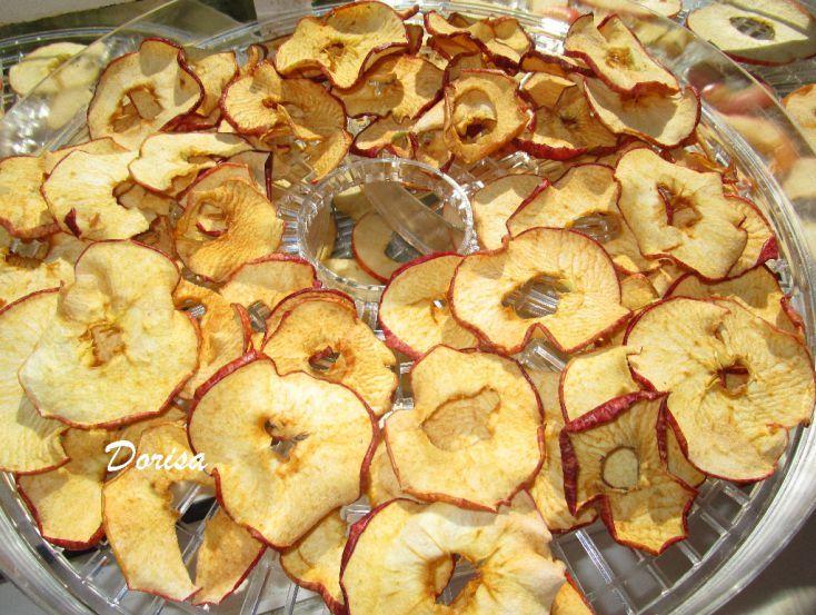 Fotorecept: Sušené jablkové čipsy