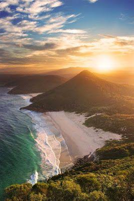 Zenith Beach in Australia