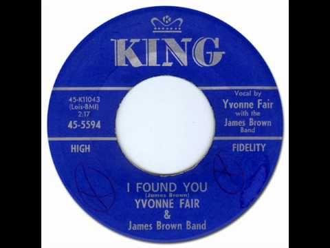 I FOUND YOU - Yvonne Fair [King 5594] 1962