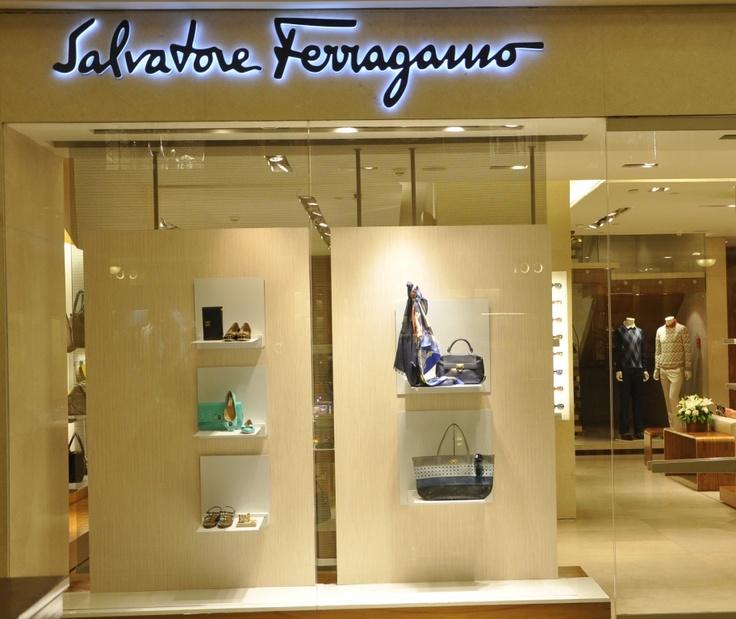 Salvatore Ferragamo Store At DLF Emporio.