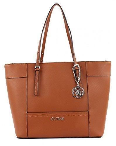 Oferta: 183€ Dto: -28%. Comprar Ofertas de GUESS HWEY45 35230 - Bolso para mujer, color marrón, talla Única barato. ¡Mira las ofertas!